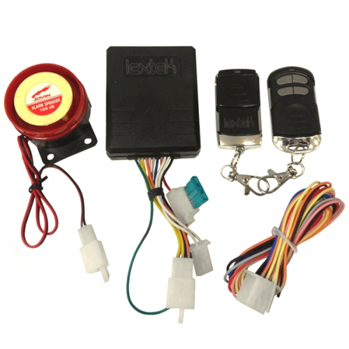 Enjoyable Lextek Motorcycle Products Alarm With Immobiliser And Remote Start Wiring Cloud Nuvitbieswglorg